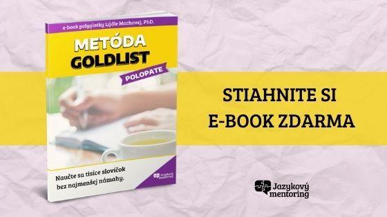 Banner nastiahnutie Goldlist e-booku zadarmo