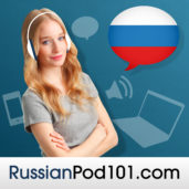RussianPod101 podcast logo