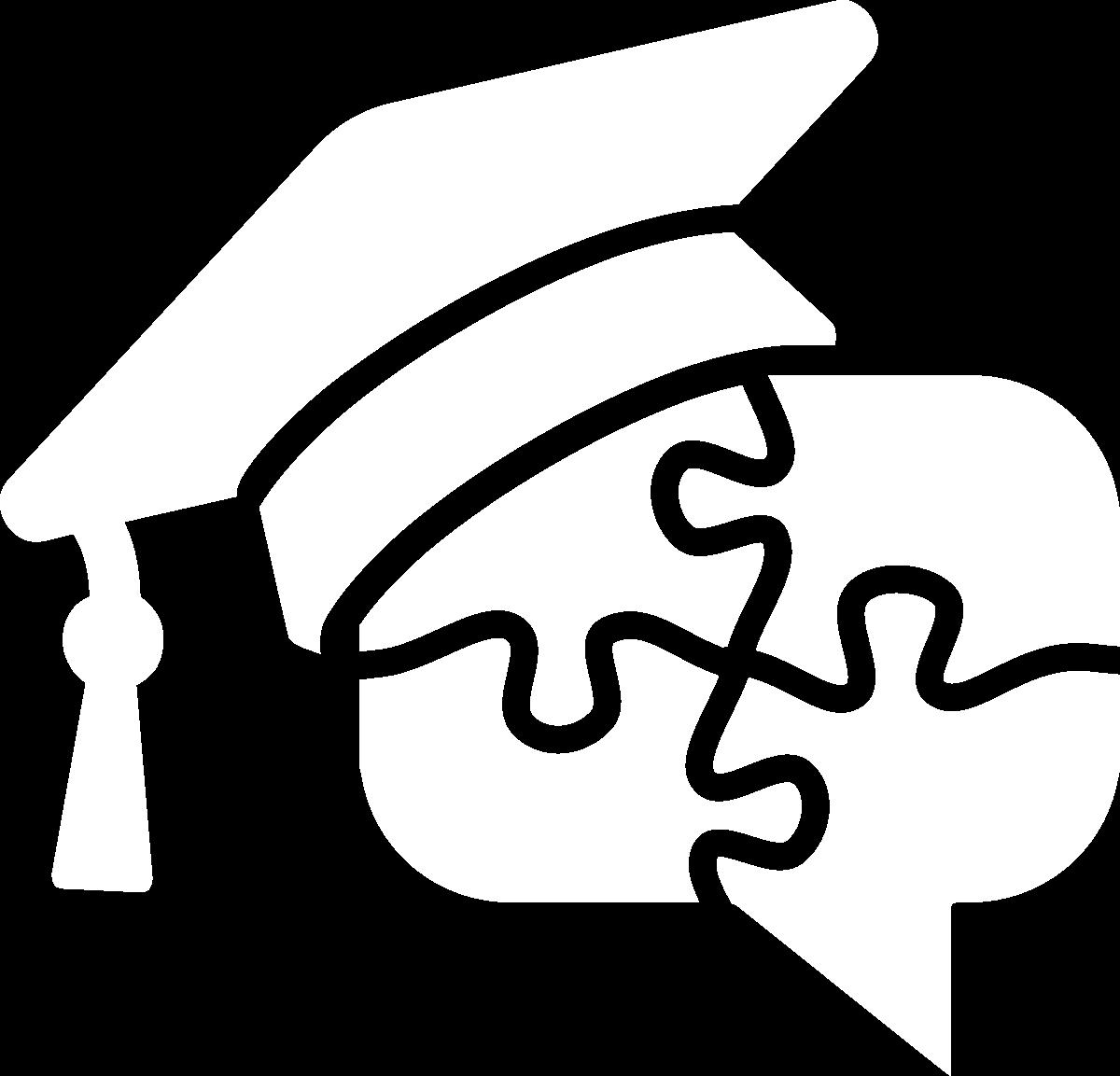 biele logo Akadémia samoukov