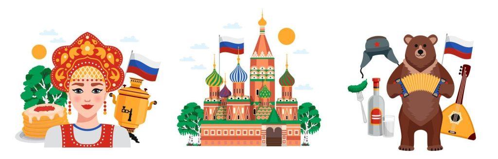 symboly Ruska