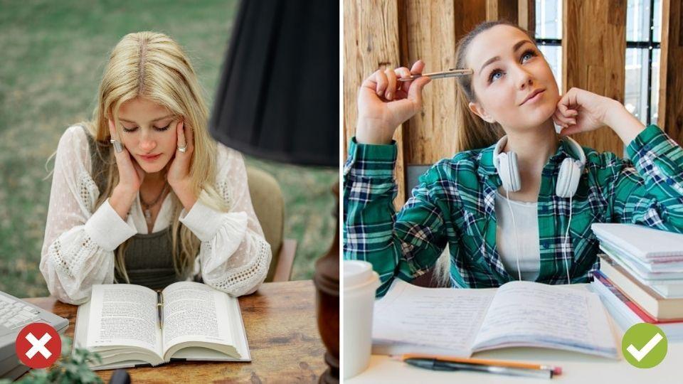 Slovíčka si iba čítame, ale neskúšame sa znich