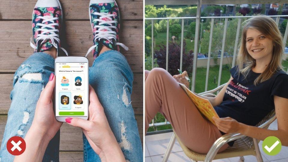 Učíme sa slovíčka cez aplikácie - Duolingo